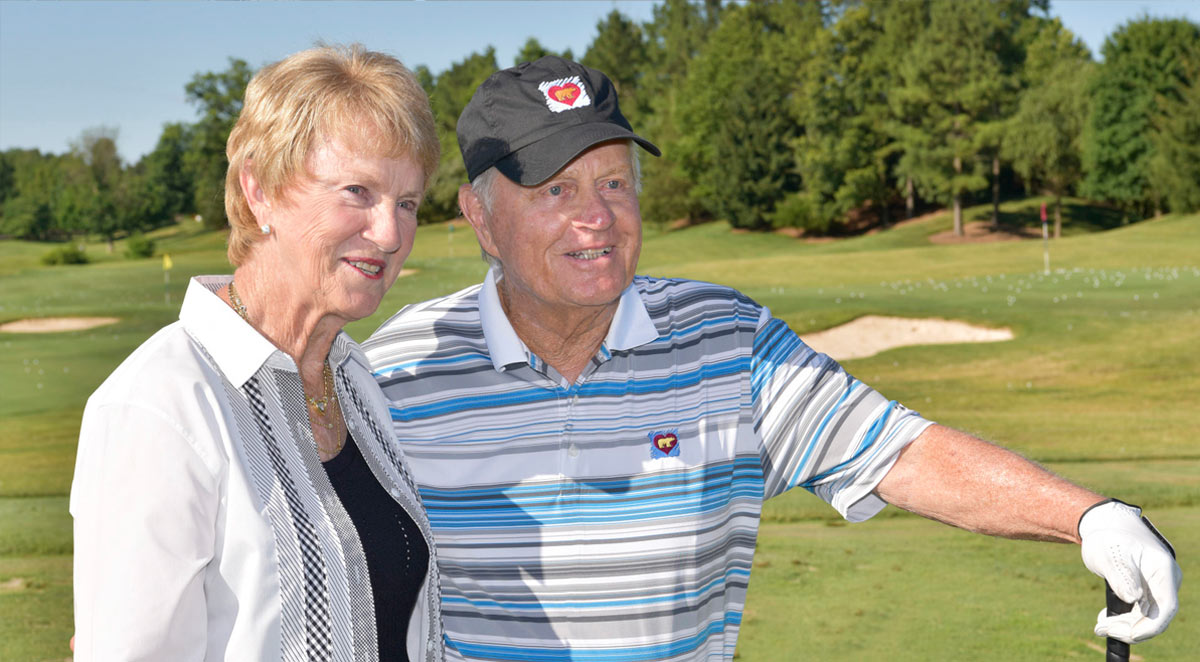 Barbara and Jack Nicklaus at Creighton Farms