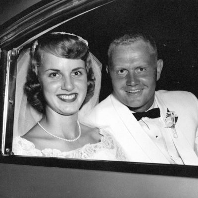 Barbara and Jack Nicklaus Wedding photo