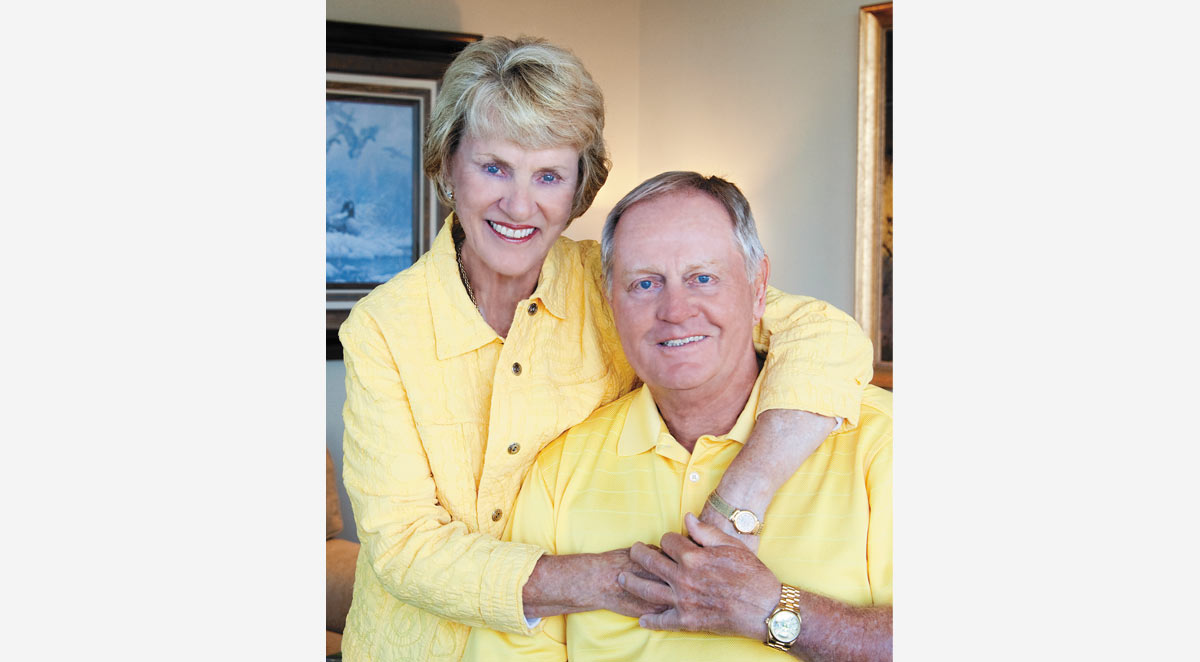 Barbara and Jack Nicklaus
