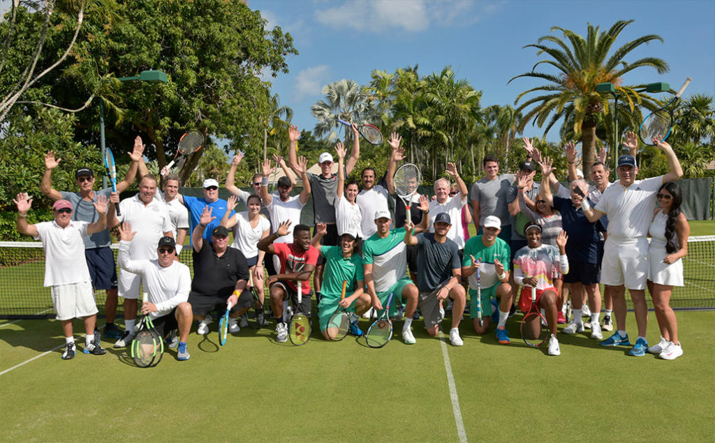 Fore Love Tournament tennis players