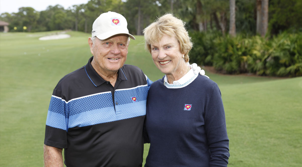 Jack and Barbara Nicklaus