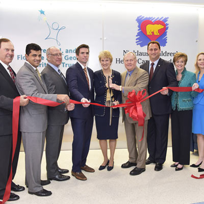 Jupiter Medical Center opens the De George Pediatric Unit with Nicklaus Children's Hospital