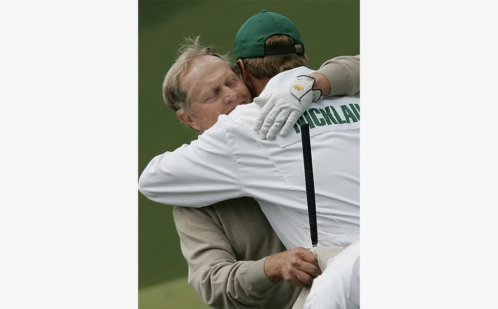 Jack and Jackie Nicklaus in 2005 at The Masters