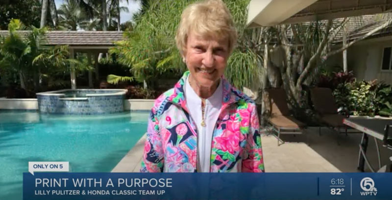 barbara nicklaus wearing lily pulitzer